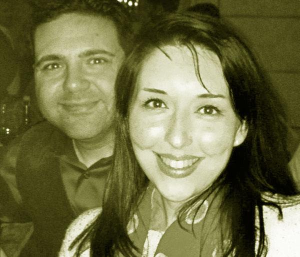 Image of Jonathan and his wife, Virginia Amber