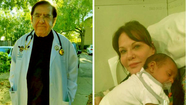 Image of Dr. Younan and Delores Nowzaradan
