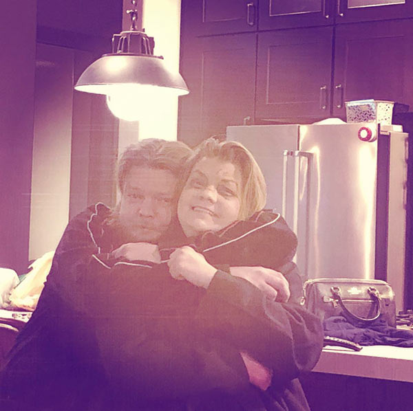 Image of Kim Harrison is spending time with her oldest son, Corey Harrison