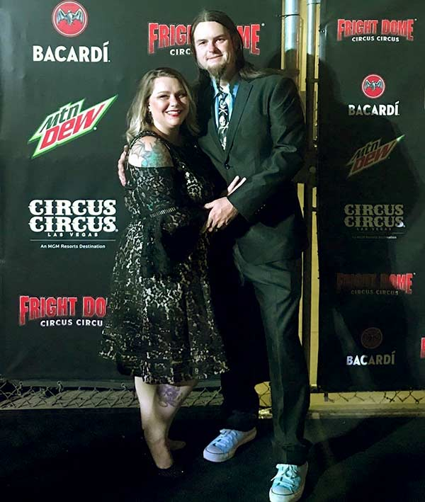 Image of Counting Car's lead painter Ryan Evans and his wife, Dana Pauley