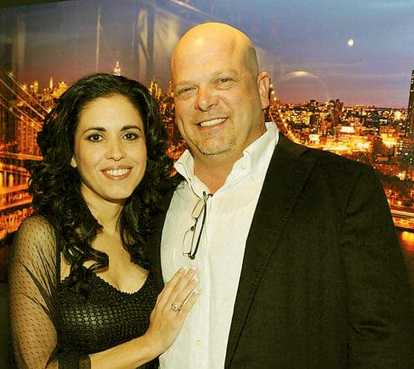 Image of Rick Harrison with his wife, Deanna Burditt