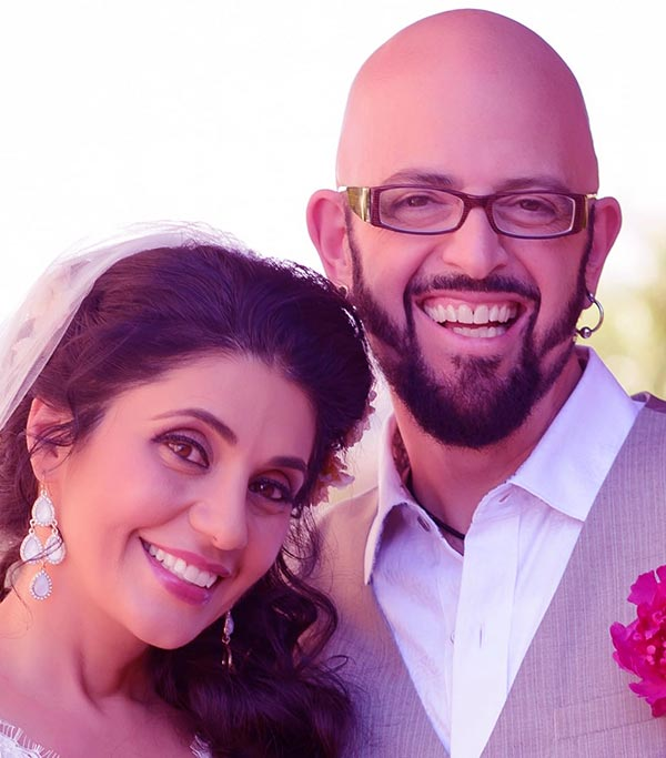 Image of Jackson Galaxy's married life with his wife, Minsoo