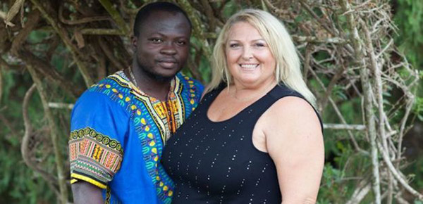 Image of Angela Deem with husband, Michael Illesanmi