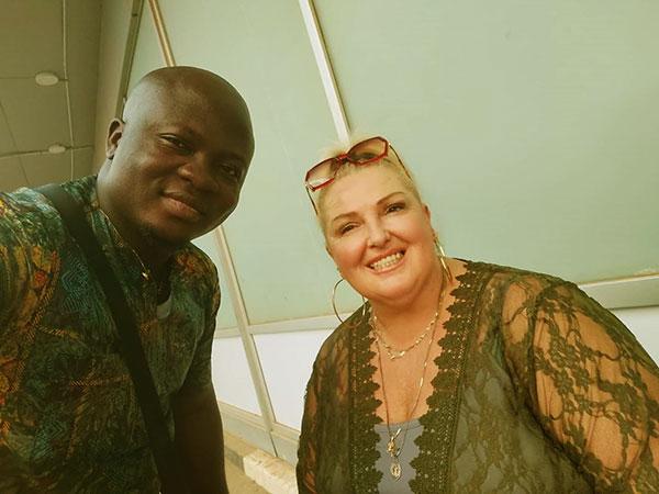 Image of Angela Deem is married to husband Michael
