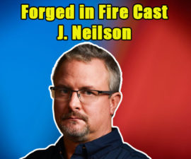 Image of Who is J. Neilson from Forged in Fire Married To. His Wife & Children
